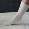 Hvid standard mohair strømper