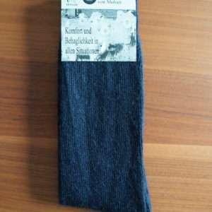 Blå standard mohair strømper
