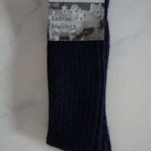 Blå softtop strømper
