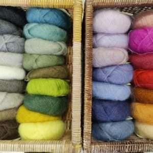 Brushed lace farve udvalg