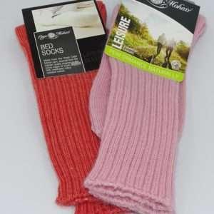 Bed socks stroemper farve udvalg