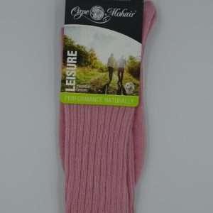 Bed socks stroemper pink front