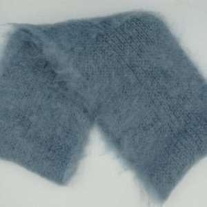 Halstørklæde af mohair